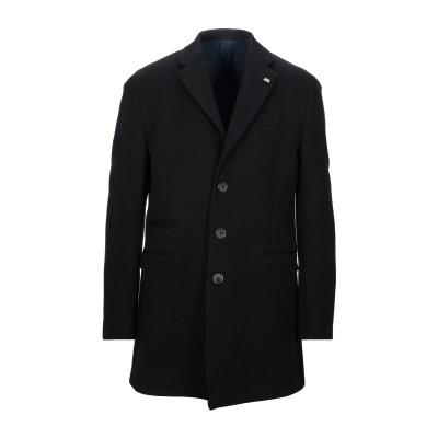 BARBATI コート ブラック 54 コットン 100% コート