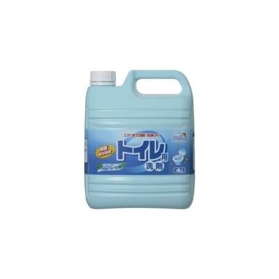 ds-2292856 ミツエイ スマイルチョイス トイレ用洗剤業務用 4L 1セット(3本) (ds2292856)