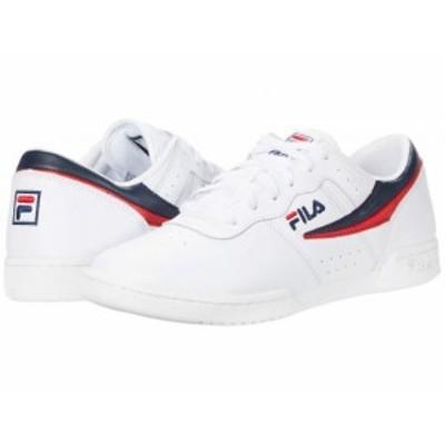 Fila フィラ レディース 女性用 シューズ 靴 スニーカー 運動靴 Original Fitness White/Fila Navy/Fila Red【送料無料】