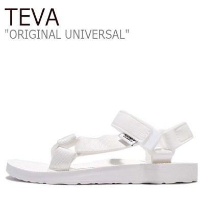 テバ サンダル TEVA レディース オリジナル ユニバーサル ORIGINAL UNIVERSAL WHITE ホワイト 1003987-BRWH シューズ