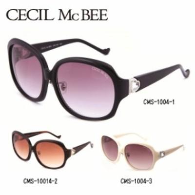 セシルマクビー サングラス CECIL McBEE CMS1004 全3カラー レディース 女性 ブランドサングラス メガネ UVカット