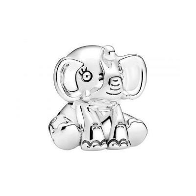 PANDORA レディース 女性用 ジュエリー 宝飾品 ネックレス チャーム Ellie the Elephant Charm - Clear