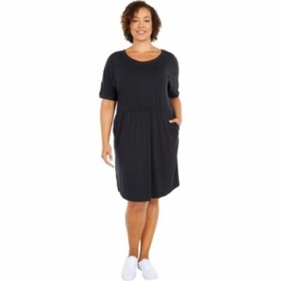コロンビア Columbia レディース ワンピース 大きいサイズ ワンピース・ドレス Plus Size Slack Water Knit Dress Black
