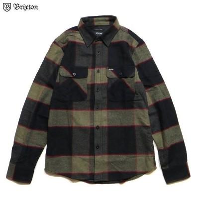 BRIXTON ブリクストン トップス  シャツ BOWERY L/S FLANNEL ネルシャツ チェックシャツ 長袖シャツ