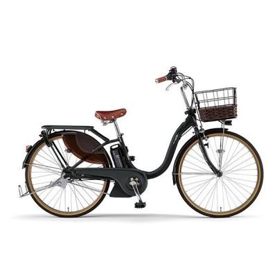 送料無料 ヤマハ(YAMAHA) 電動アシスト自転車 PAS With DX PA24WDX マットブラック2