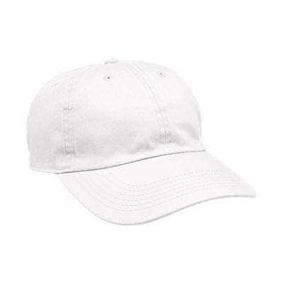 ニューハッタン STONE WASHED CAP NHN1400 WHITE US F (FREE サイズ) 並行輸入品