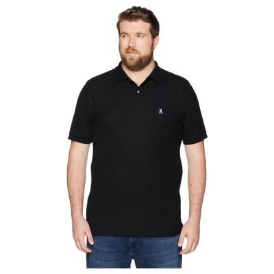サイコバニー Psycho Bunny メンズ ポロシャツ 大きいサイズ トップス Big and Tall Classic Polo Black