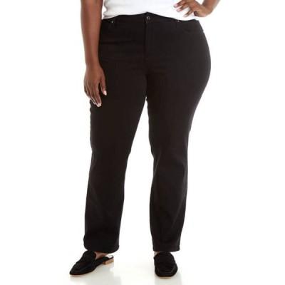 キム ロジャース レディース デニムパンツ ボトムス Plus Size 5 Pocket Denim Short Jeans