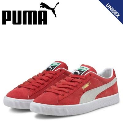 PUMA プーマ スウェード ヴィンテージ スニーカー メンズ レディース スエード SUEDE VINTAGE レッド 374921-06