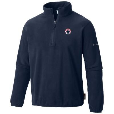ワシントン・ウィザーズ Columbia Ridge Repeat Half-Zip Fleece ジャケット - Navy