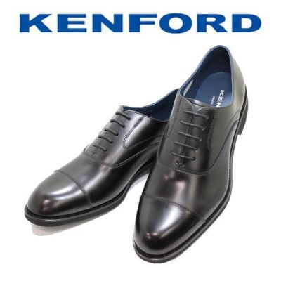 ビジネスシューズ メンズ リーガル KENFORD ケンフォード KN82 ABJ ブラック 3E 本革 ストレートチップ