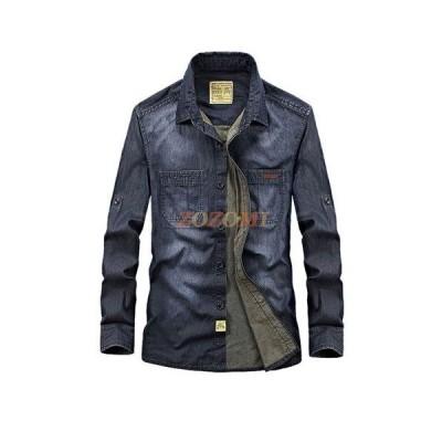 カジュアルシャツ メンズ シャツ 長袖 メンズ服 デザイン コットンシャツ 綿 カジュアルシャツ jpsc071