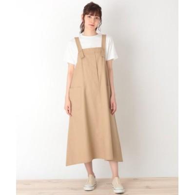 【シューラルー】 ワークジャンパースカート レディース ベージュ 02(M) SHOO・LA・RUE