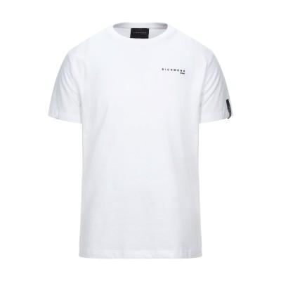 RICHMOND T シャツ ホワイト M コットン 100% T シャツ