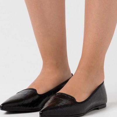 レディース 靴 シューズ TEMPO - Slip-ons - black