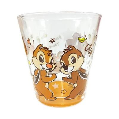 ティーズファクトリー ディズニー グラフィティ2 フロストグラス チップ&デール H8.8×Φ8.6cm DN-5526301CD