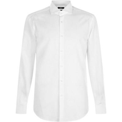 ヒューゴ ボス Boss メンズ シャツ トップス Jason Jack Slim Shirt White