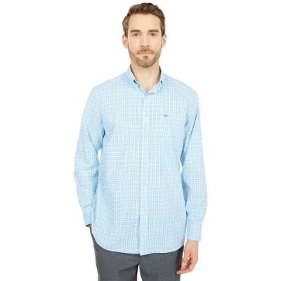 サウザーンタイド シャツ トップス メンズ Skipjack Multi-Check Sport Shirt Boat Blue
