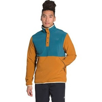ノースフェイス メンズ ジャケット・ブルゾン アウター Mountain Pullover Sweatshirt Mallard Blue/Timber Tan