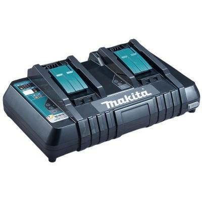 マキタ 2口充電器(スライド式18V〜9.6V、充電完了メロディー付)