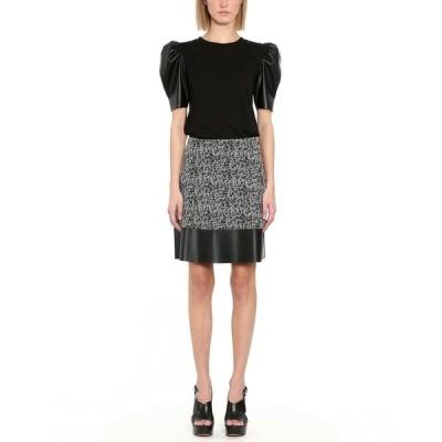 マイケルコース スカート ボトムス レディース Petite Tweed Mini Skirt Black/White