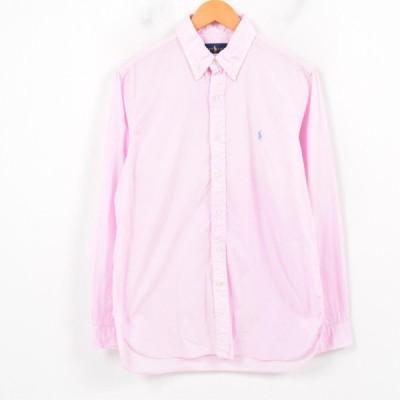 ラルフローレン Ralph Lauren 長袖 ボタンダウンシャツ /waw2073