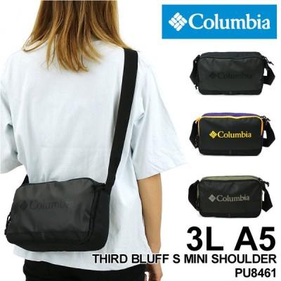 Columbia(コロンビア) THIRD BLUFF S MINI SHOULDER(サードブラフSミニショルダー) ミニショルダーバッグ 斜め掛けバッグ 3L A5 撥水 PU8461