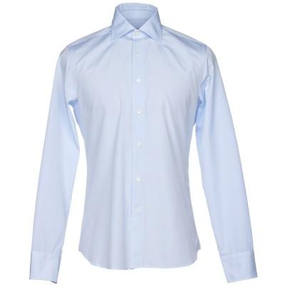 カナーリ CANALI シャツ スカイブルー 45 コットン 100% シャツ
