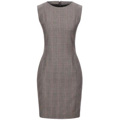 KITON ミニワンピース&ドレス カーキ 42 ウール 100% ミニワンピース&ドレス