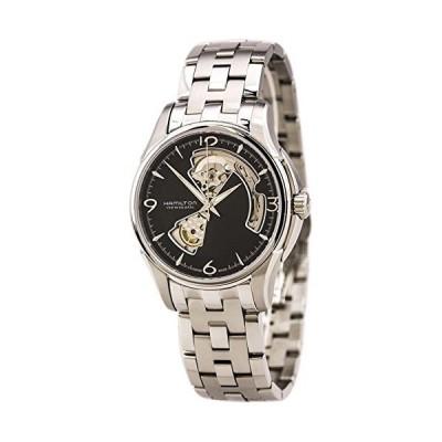Hamilton Jazzmaster Open Heart Automatic Black Dial Men's Watch #H32565135【並行輸入品】