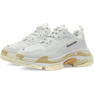 バレンシアガ Balenciaga メンズ スニーカー シューズ・靴 Triple S Sneaker White