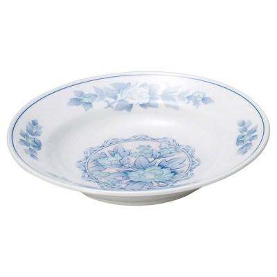 (業務用・スープ碗)三色牡丹 8吋スープ[75216-108](入数:5)