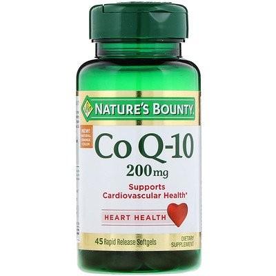Co Q-10, 200 mg, 45 Rapid Release Softgels