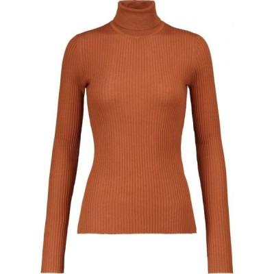 ガブリエラ ハースト Gabriela Hearst レディース ニット・セーター トップス Peppe cashmere and silk sweater Copper