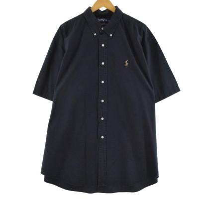 ビッグサイズ ラルフローレン Ralph Lauren 半袖 ボタンダウンシャツ 4L /eaa147664