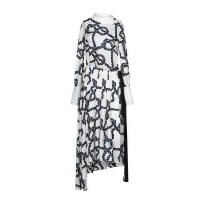 MONSE 7分丈ワンピース・ドレス アイボリー 4 シルク 100% 7分丈ワンピース・ドレス