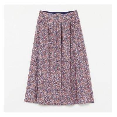 【エリオポール/HELIOPOLE】 Maison Guillemette フラワープリントスカート