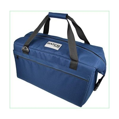 Hatch Coolers Canvas Soft Cooler with High-Density Insulation, Made in USA, 36-Can, Navy【並行輸入品】