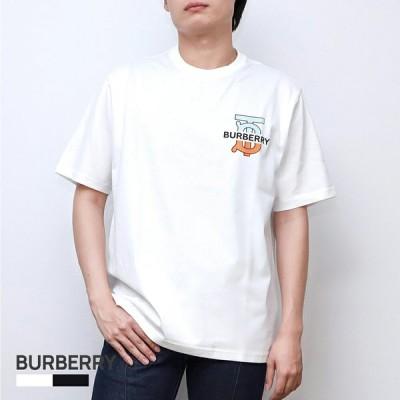 バーバリー BURBERRY GANTHER メンズ トップス Tシャツ - モノグラムモチーフ コットン オーバーサイズ 803218