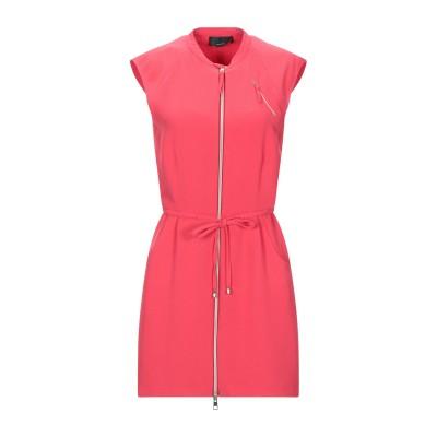 AIGUILLE NOIRE by PEUTEREY ミニワンピース&ドレス レッド 40 ポリエステル 100% ミニワンピース&ドレス