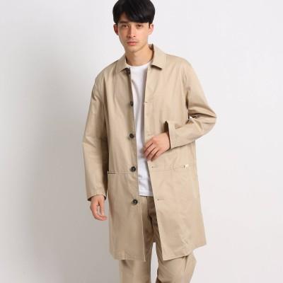 Dessin(Men)(デッサン:メンズ)/コットン(綿)ステンカラーコート