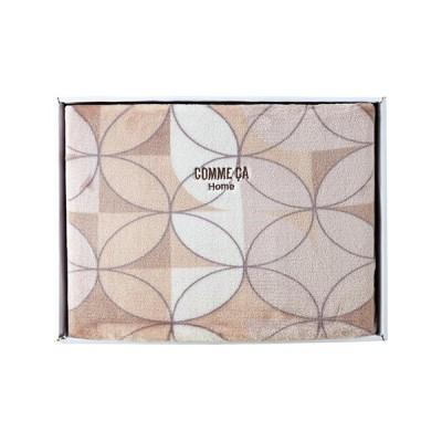 内祝い ギフト コムサ ホームスムースタッチ毛布(22306-08150-236) 