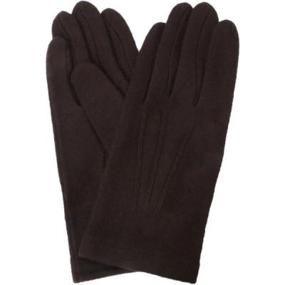 イチーナ 【紳士用手袋】 アクリル ジャージ ブラウン (フリーサイズ) 3101