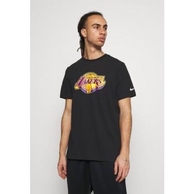 ナイキ メンズ スポーツ用品 NBA LOS ANGELES LAKERS ESSENTIAL LOGO TEE - Club wear - black