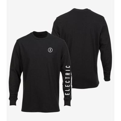 Electric Icon L/S T-Shirt Black L Tシャツ 送料無料