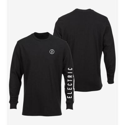 Electric Icon L/S T-Shirt Black XL Tシャツ 送料無料