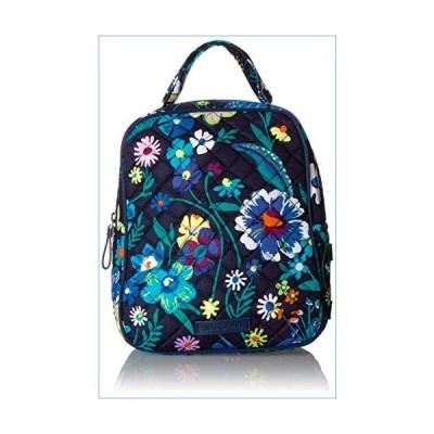Vera Bradley Women's Signature Cotton Lunch Bunch Lunch Bag, Moonlight Garden, One Size並行輸入品