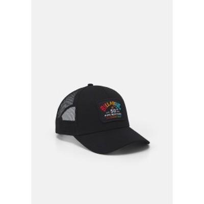 ビラボン メンズ 帽子 アクセサリー PIPE TRUCKER UNISEX - Cap - black black
