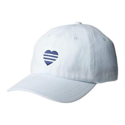アディダス 3-Stripe Heart Hat レディース 帽子 Sky Tint