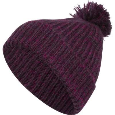 アディダス adidas レディース ニット ビーニー 帽子 Autumn Ballie Beanie Noble Purple/Power Berry Twist/Noble Purple